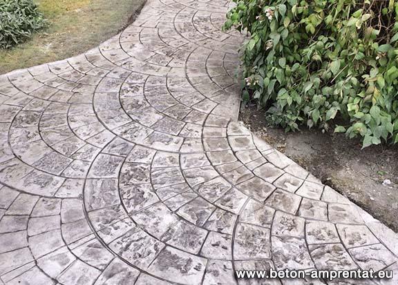 beton amprentat pret